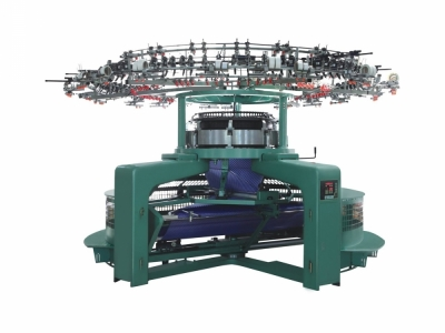 Single Jersey Open-Width Computerized Jacquard Knitting Machine